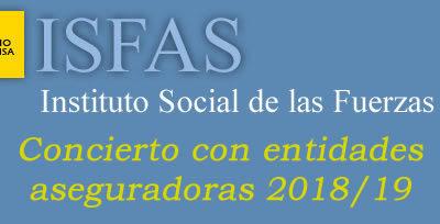 Contenido de la Cartera de Servicios del concierto ISFAS