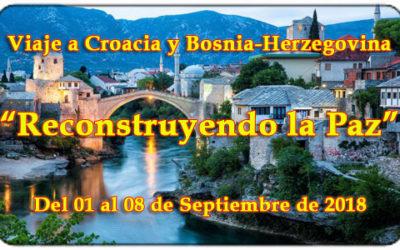 Viaje a Croacia y Bosnia-Herzegobina para miembros y familiares de las FAS