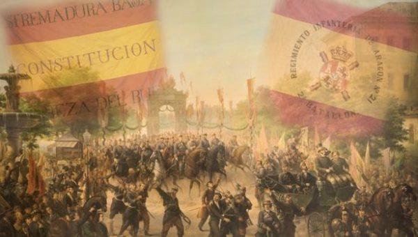 Exposición itinerante sobre los 175 años de la bandera de España