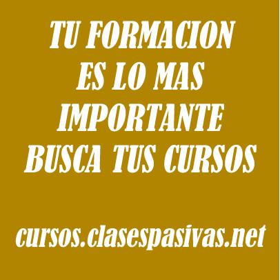 Formacion clasespasivas.net