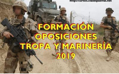 Preparación Oposiciones Tropa y Marinería del Ejército