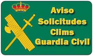 AVISO CLIMS y la Guardia Civil