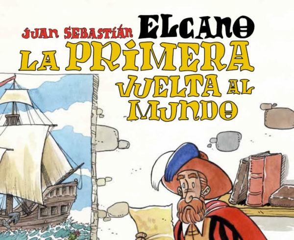 El Ministerio de Defensa presenta un cómic infantil sobre la primera vuelta al mundo