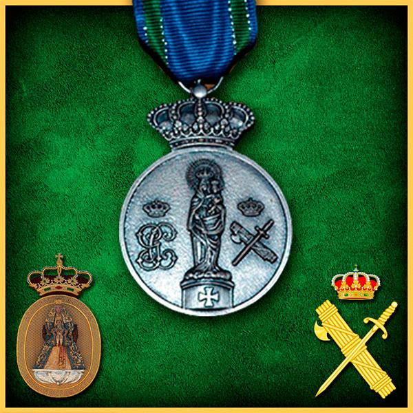 Con motivo del 175 aniversario de la Guardia Civil se puede solicitar de nuevo la medalla conmemorativa de la Virgen del Pilar