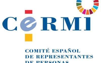 Propuesta del CERMI de modificación normativa para la asimilación legal de la valoración de las situaciones de dependencia con la calificación mínima del grado de discapacidad