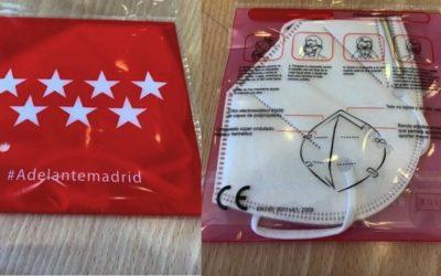 Los Mutualistas de ISFAS, MUFACE y MUGEJU residentes en la Comunidad de Madrid puede recoger las mascarillas en las Farmacias con su DNI