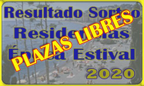 Plazas Libres Residencias Época Estival DIAPER