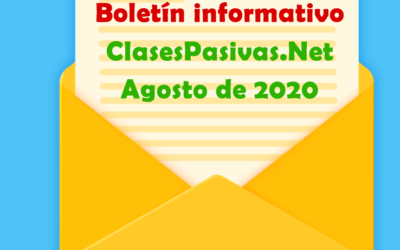 Boletín informativo 1 de agosto de 2020
