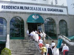 Prohibidas las visitas en la residencia de mayores del Ministerio de Defensa en Guadarrama