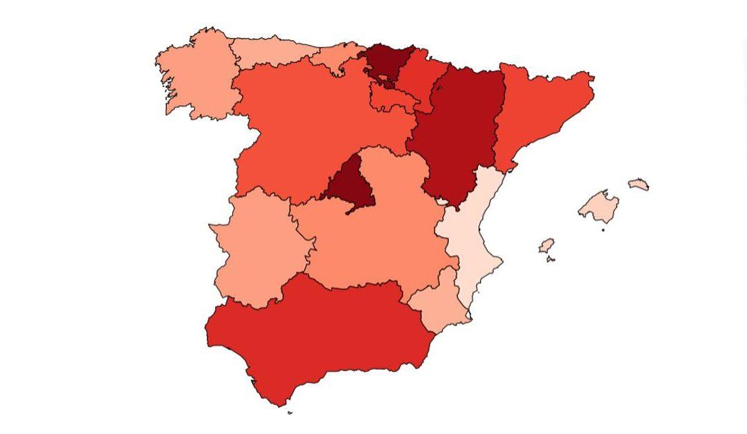 Solicitud del Certificado COVID Digital de la UE en Comunidades Autónomas
